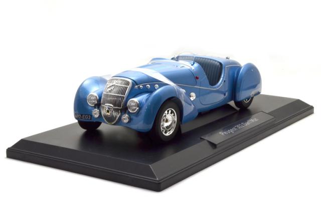 ノレブ/プジョー302 Darl'Mat ロードスター 1937 メタリックブルー
