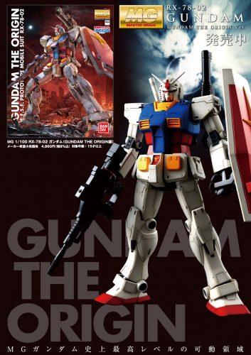 MG 1/100 THE ORIGIN版ガンダム