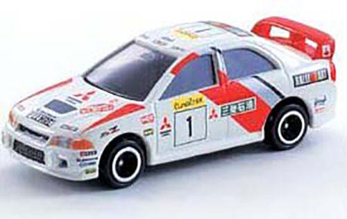 トミカ 三菱ランサーエボリューション.IV WRCモデル