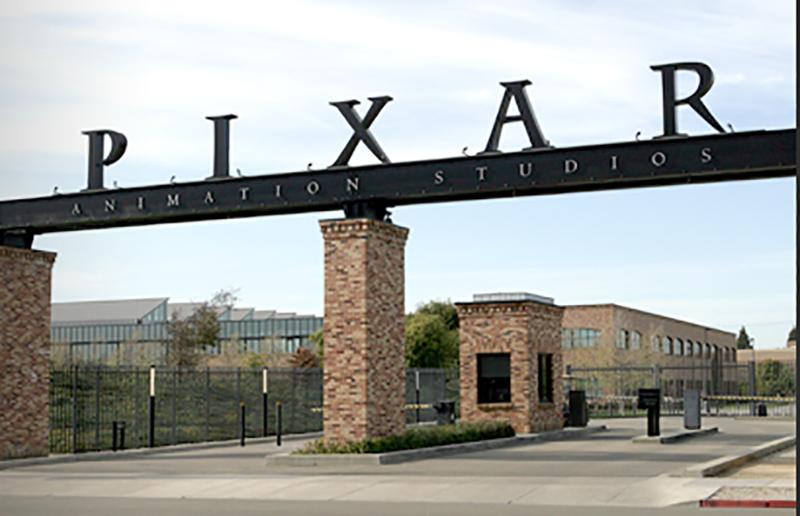 カリフォルニアにあるスタジオ