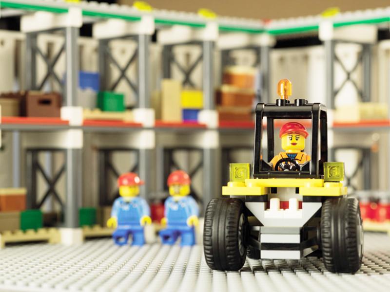 レゴブロックは厳しい品質基準に基づいて製造されています。