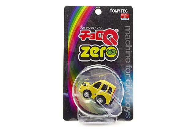 チョロQ zero/ルノー カングーゼン 黄色