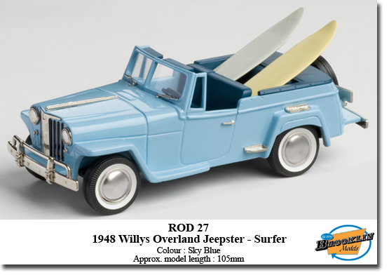 1948 Willys Overland Jeepster - Surfer