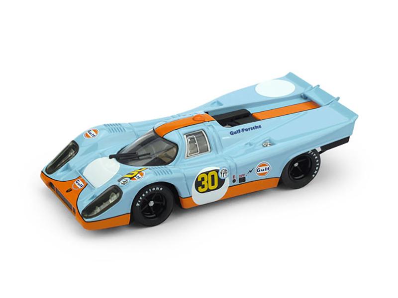 Porsche917K  1000 km Buenos Aires 1971  1° Jo Siffert (CH) Derek Bell (GB) #30  Scuderia JWA Gulf