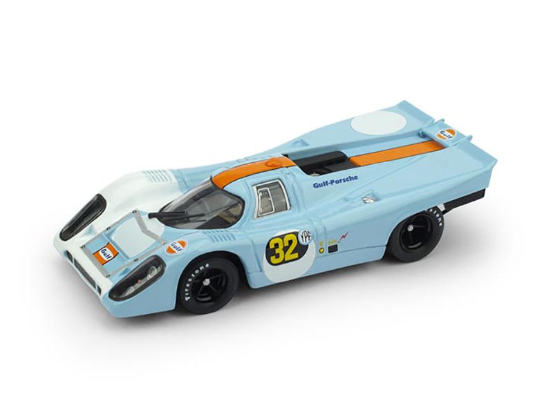 Porsche917K  1000 km Buenos Aires 1971  2° Pedro Rodriguez (MEX) Jackie Oliver (GB) #32 Pole  Scuderia JWA Gulf