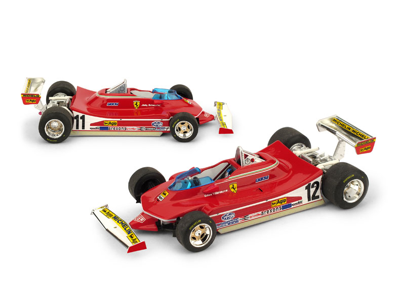 Ferrari 312 T4   Presentazione Fiorano, Gennaio 1979 Jody Scheckter #11 - Gilles Villeneuve #12