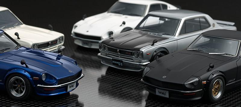 ノスタルジックカーも豊富にラインナップ。マニアにはたまらないです。