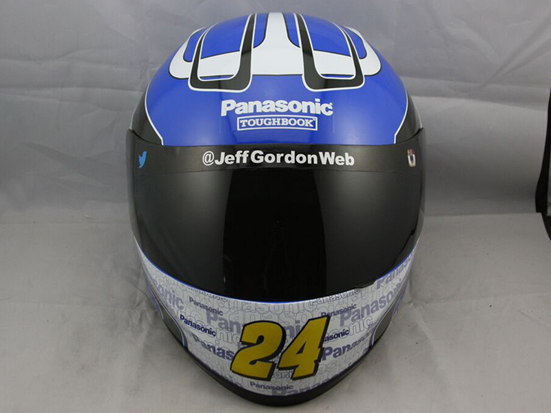 JEFF GORDON PANASONIC FULL SIZE REPLICA HELMET