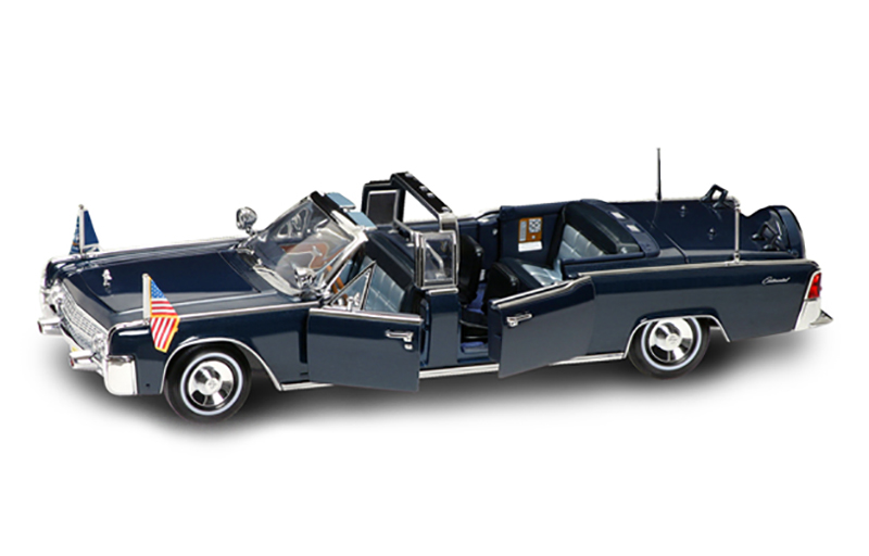 1961 Lincoln X-100 Kennedy Car