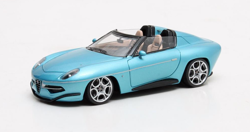 1/43 Touring Disco Volante Spyder metallic blue 2016