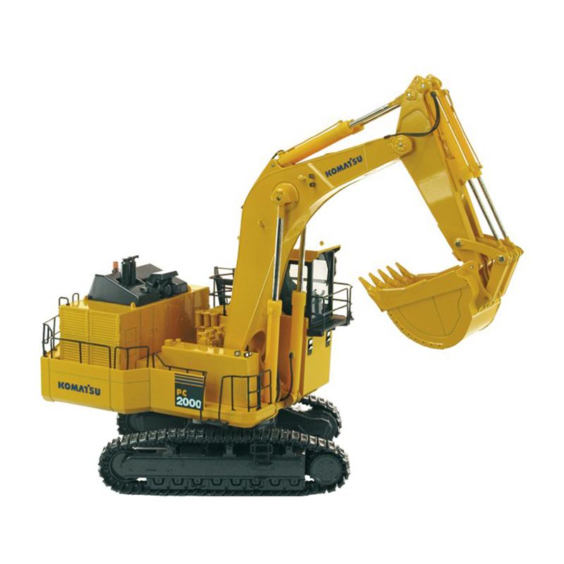 KOMATSU PC2000-8 BH  mining excavator with backhoe