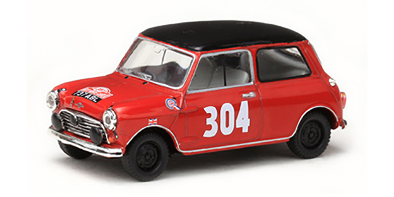 Morris Cooper - 1st Ladies Rallye Monte Carlo 1962