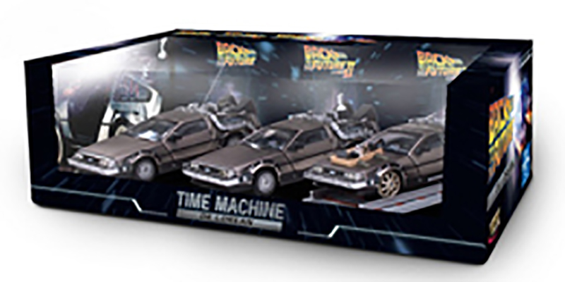 "De Lorean DMC 12 ""Back to the Future"" (three pack)"