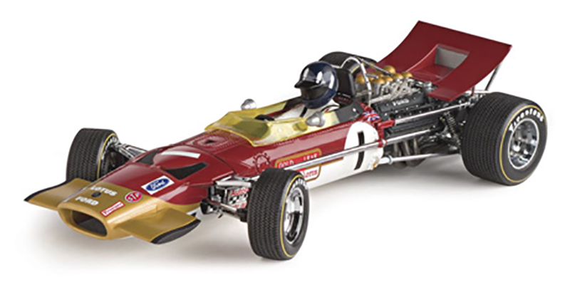 Lotus 49B - 1st 1969 Grand Prix of Monaco