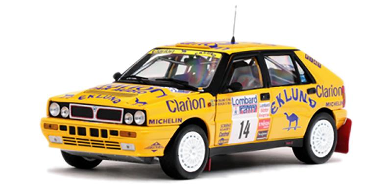 LANCIA Delta HF Integrale 16V Lombard RAC Rally 1990